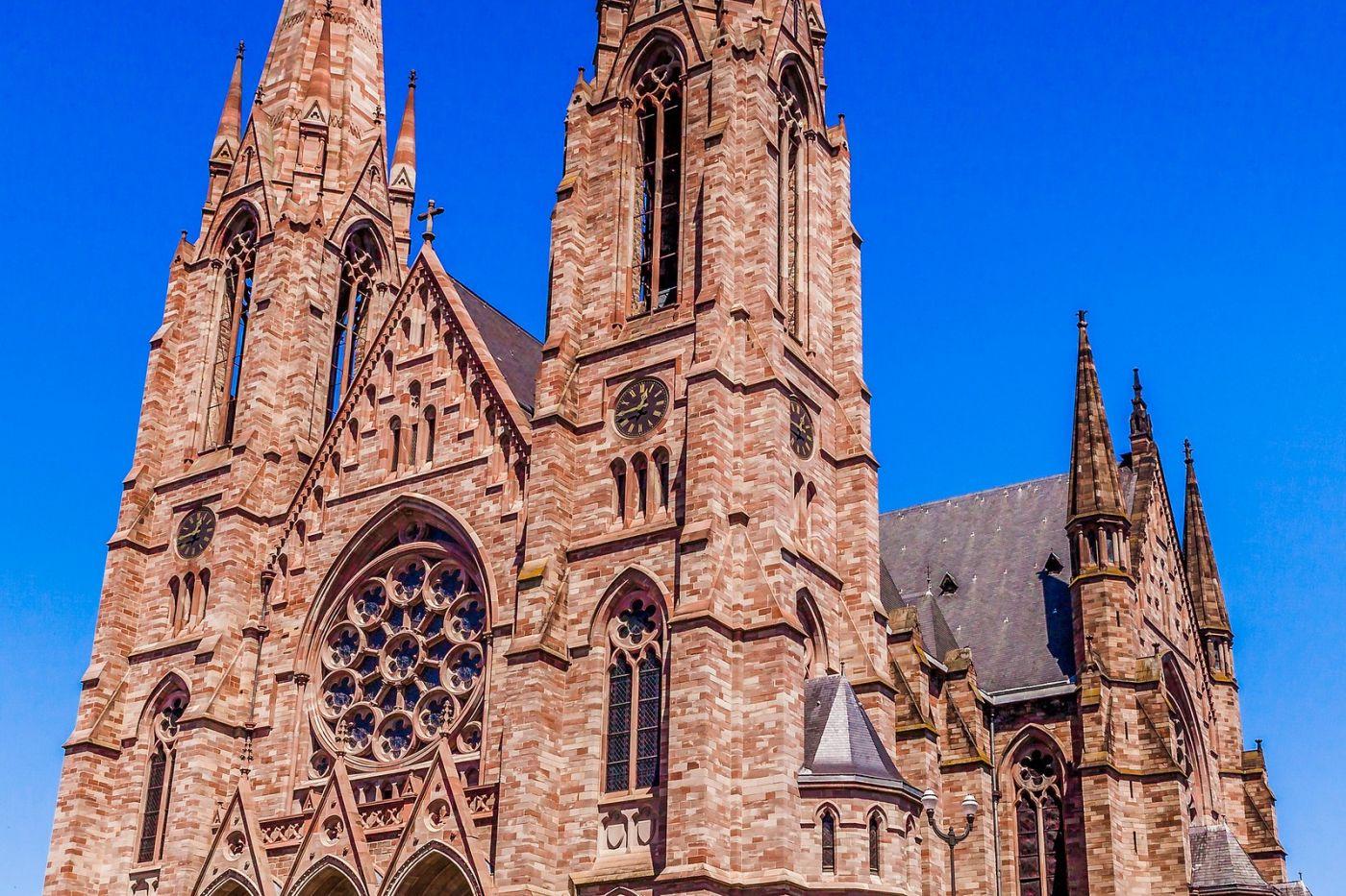 法国斯特拉斯堡(Strasbourg),八百年的主教堂_图1-38