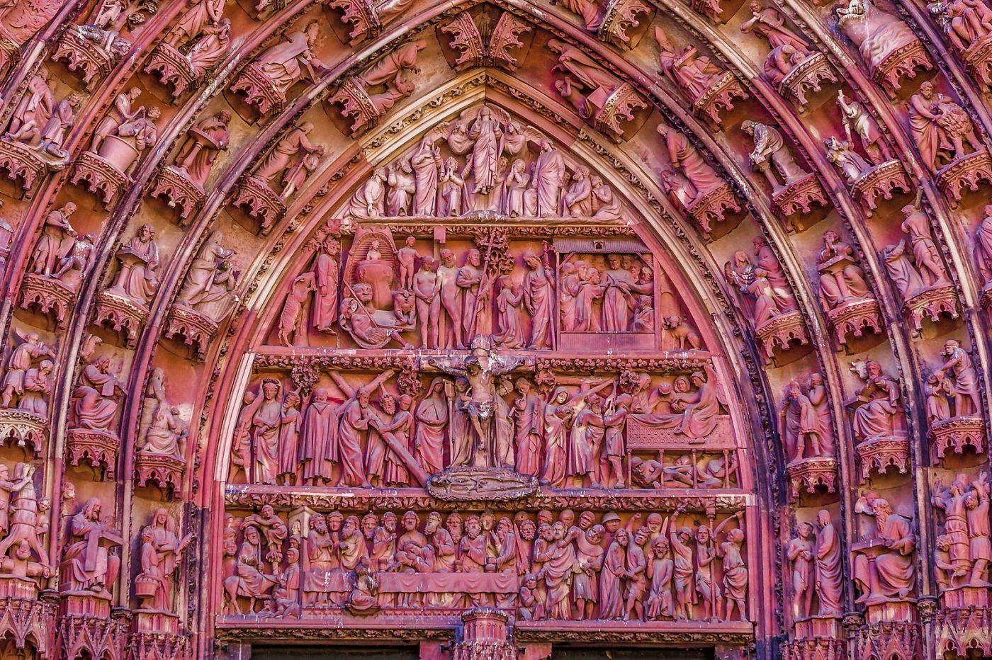 法国斯特拉斯堡(Strasbourg),八百年的主教堂_图1-40