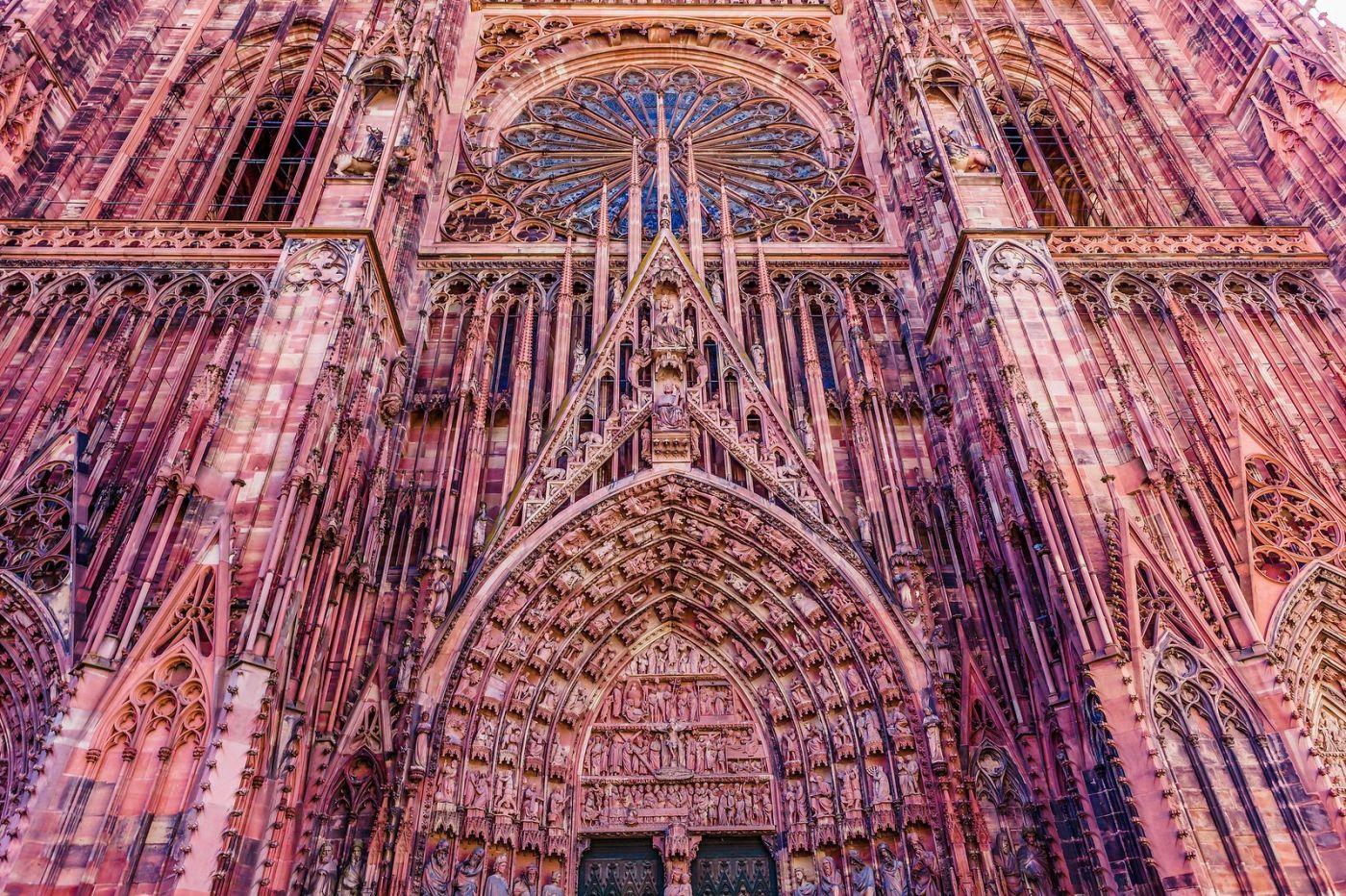 法国斯特拉斯堡(Strasbourg),八百年的主教堂_图1-39