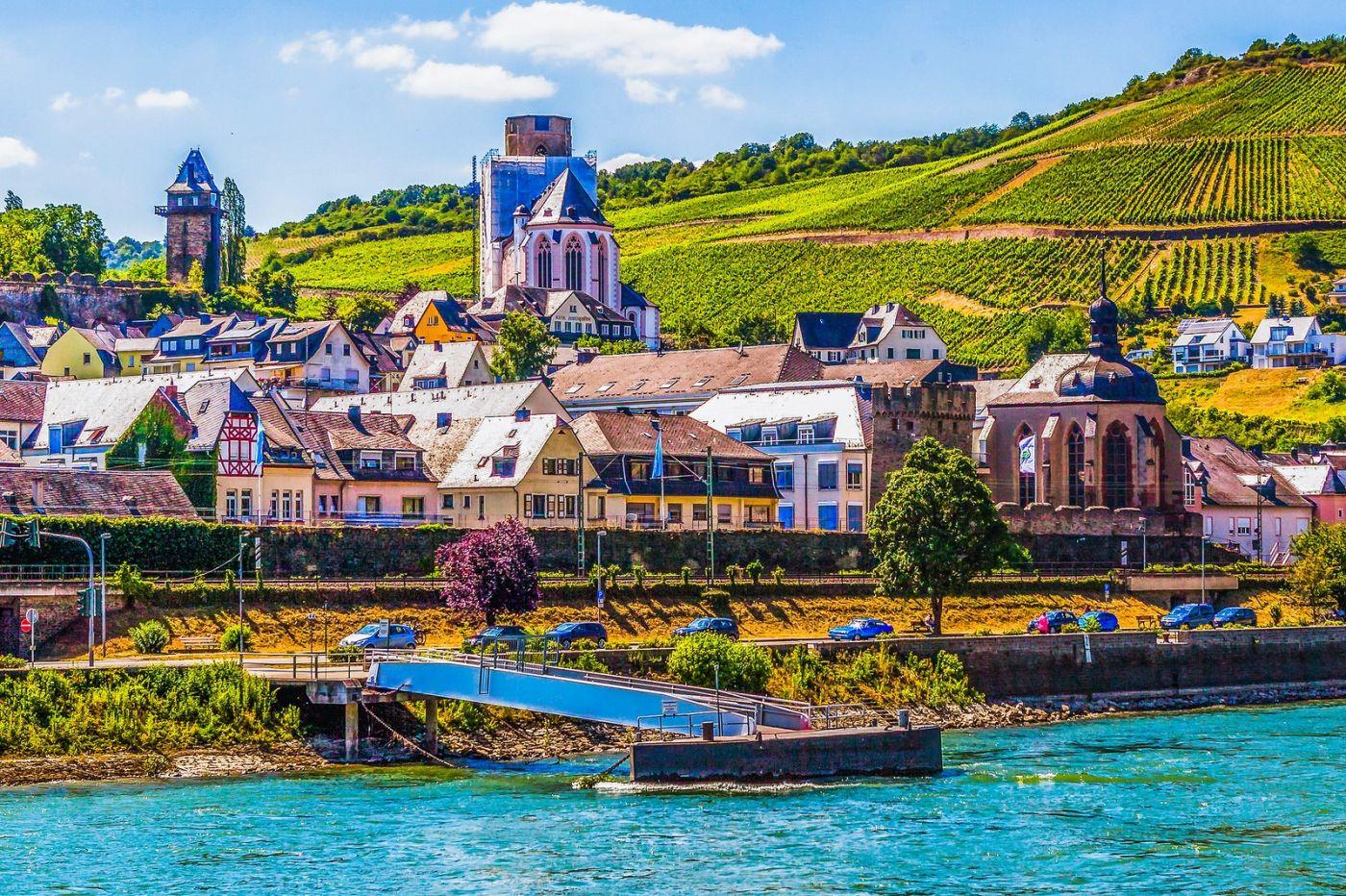 畅游莱茵河,河中的城堡_图1-9