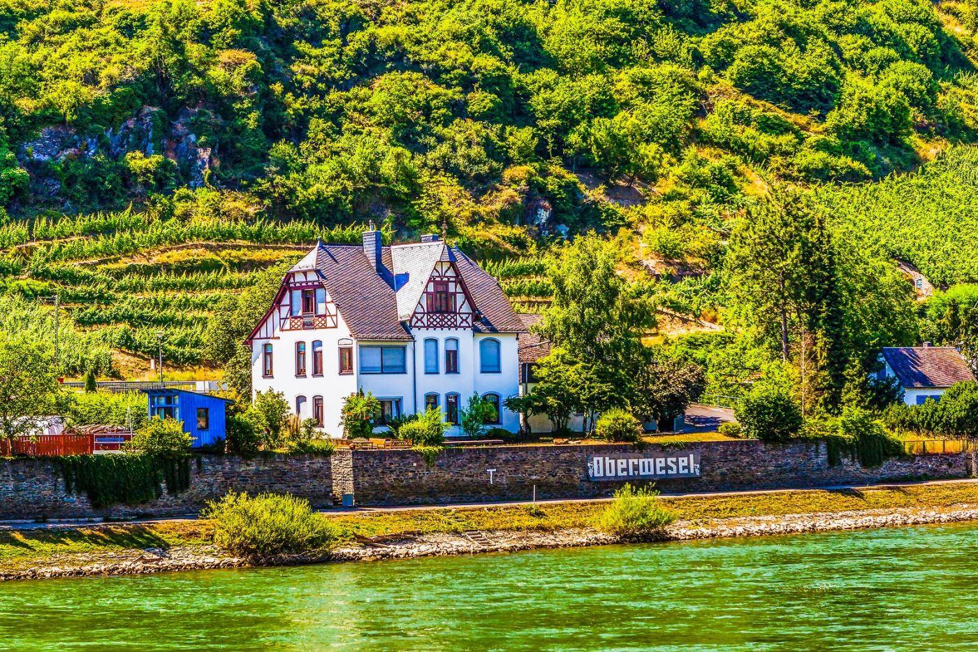 畅游莱茵河,河中的城堡_图1-11