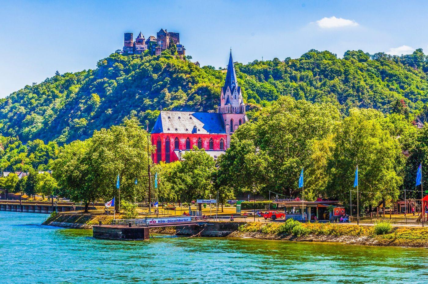 畅游莱茵河,河中的城堡_图1-12