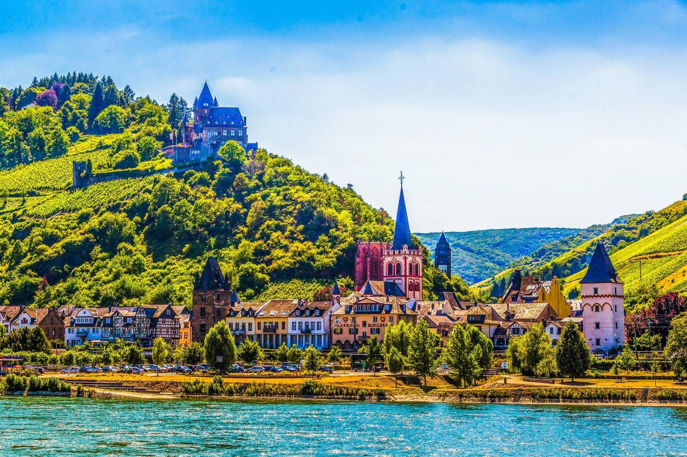 畅游莱茵河,河中的城堡_图1-8