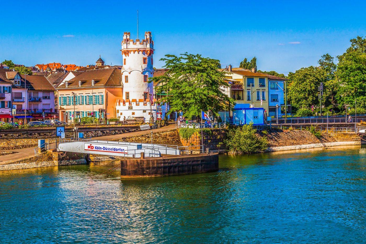 畅游莱茵河,河中的城堡_图1-7