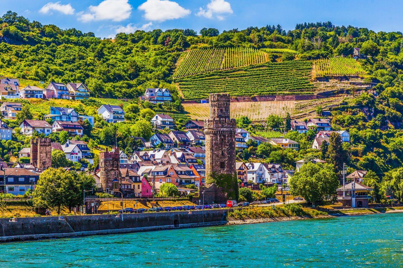 畅游莱茵河,河中的城堡_图1-6