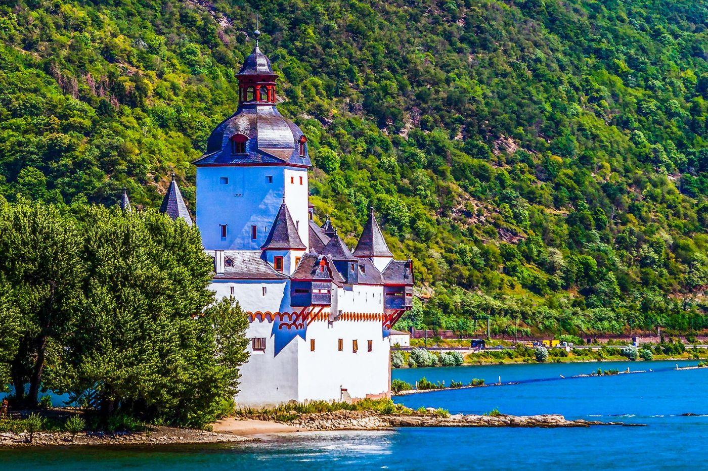 畅游莱茵河,河中的城堡_图1-1