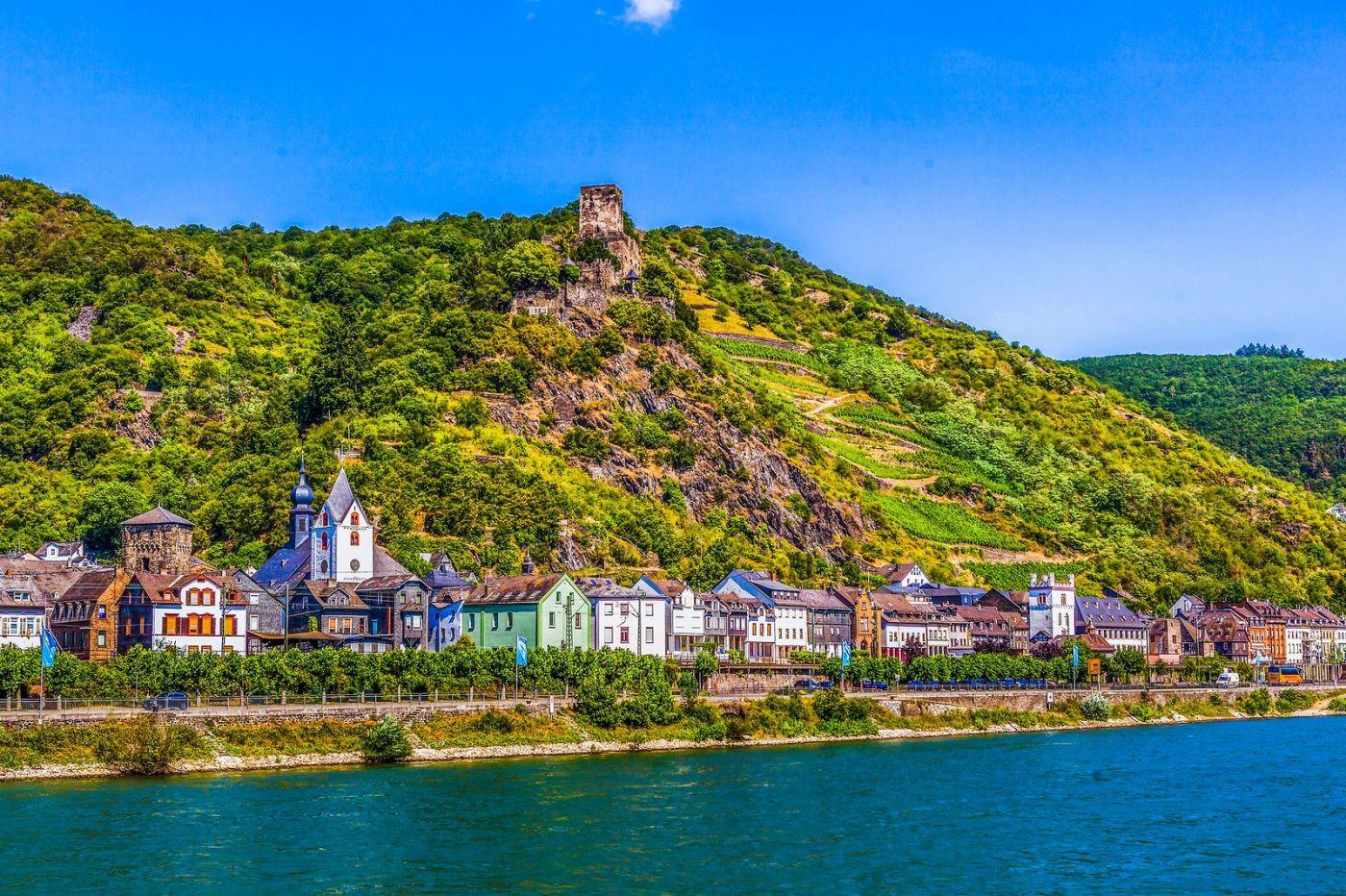 畅游莱茵河,河中的城堡_图1-3