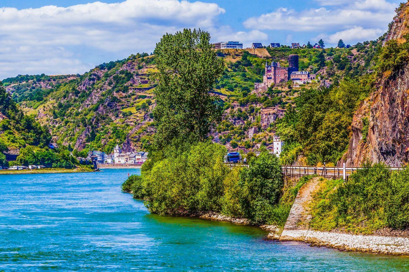 畅游莱茵河,河中的城堡_图1-13