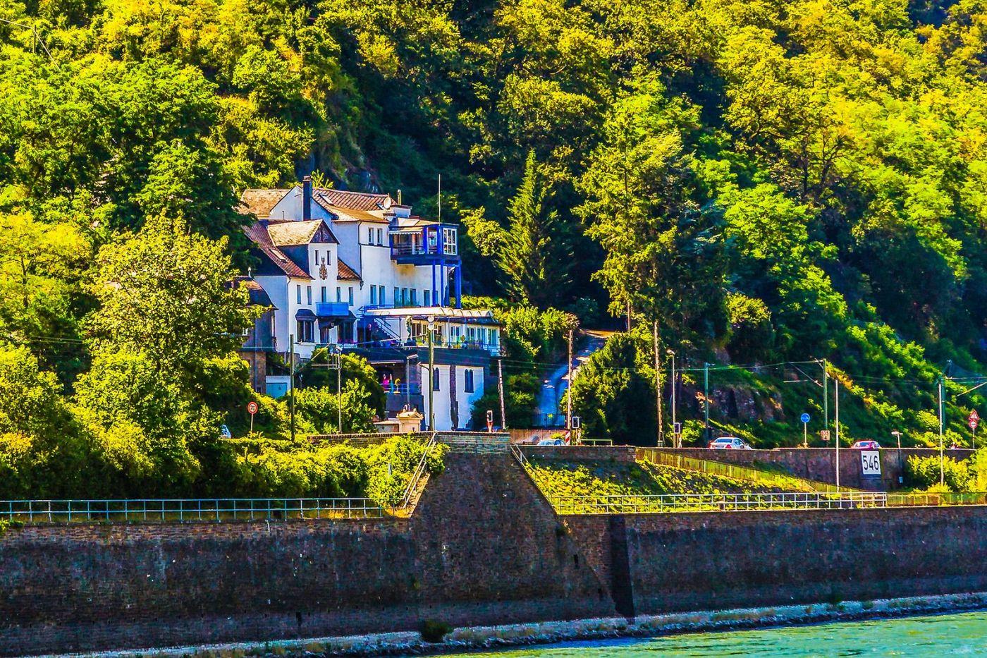 畅游莱茵河,河中的城堡_图1-14