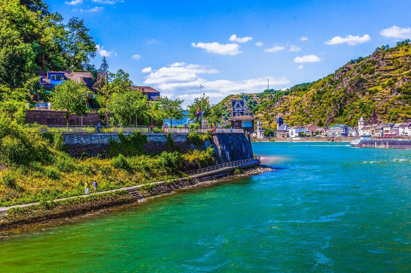 畅游莱茵河,河中的城堡_图1-16