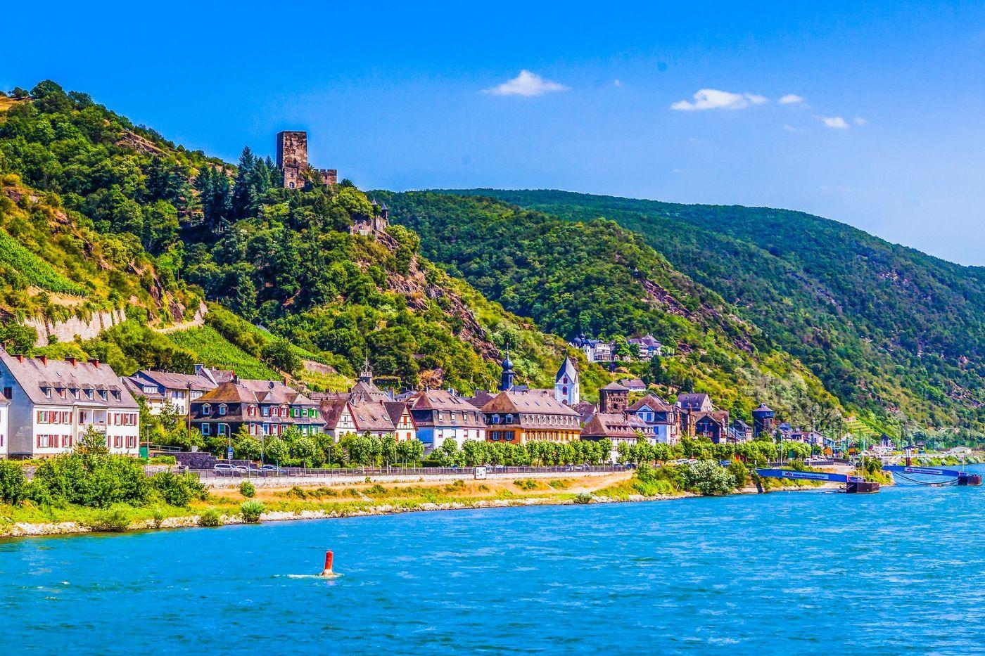 畅游莱茵河,河中的城堡_图1-20