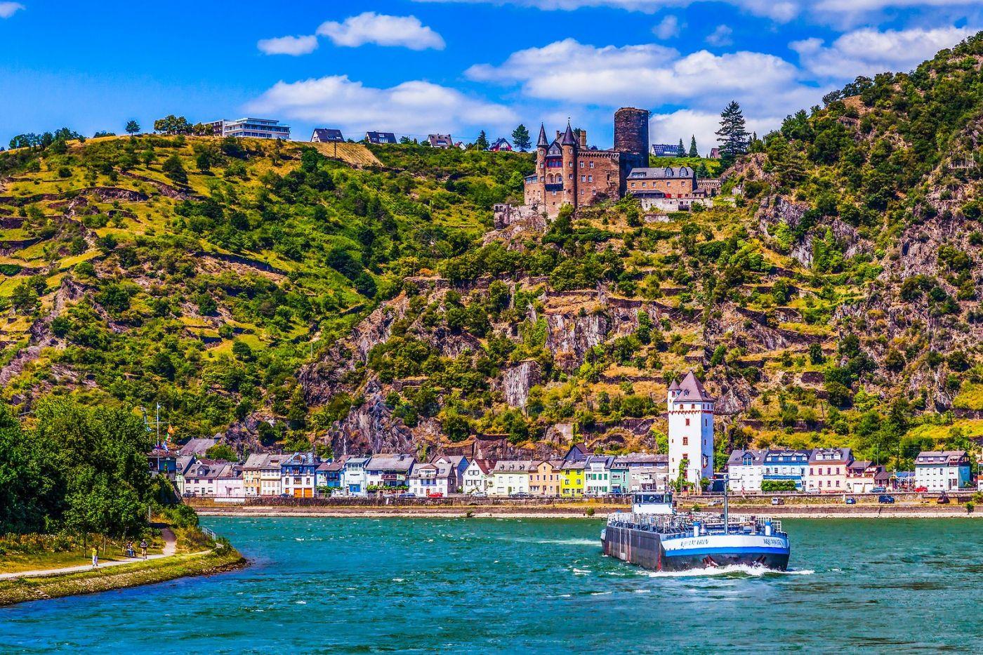 畅游莱茵河,河中的城堡_图1-19