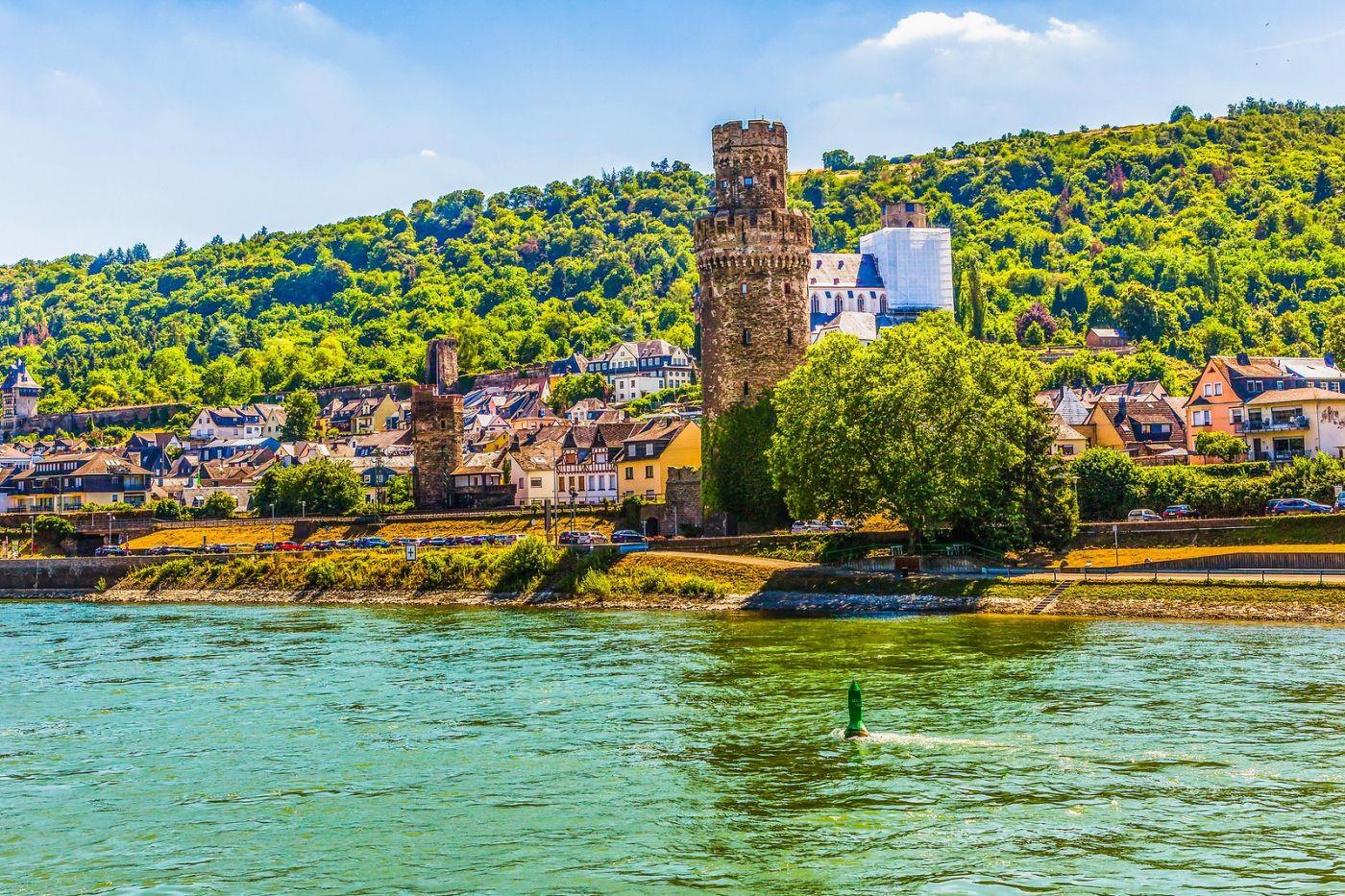 畅游莱茵河,河中的城堡_图1-18