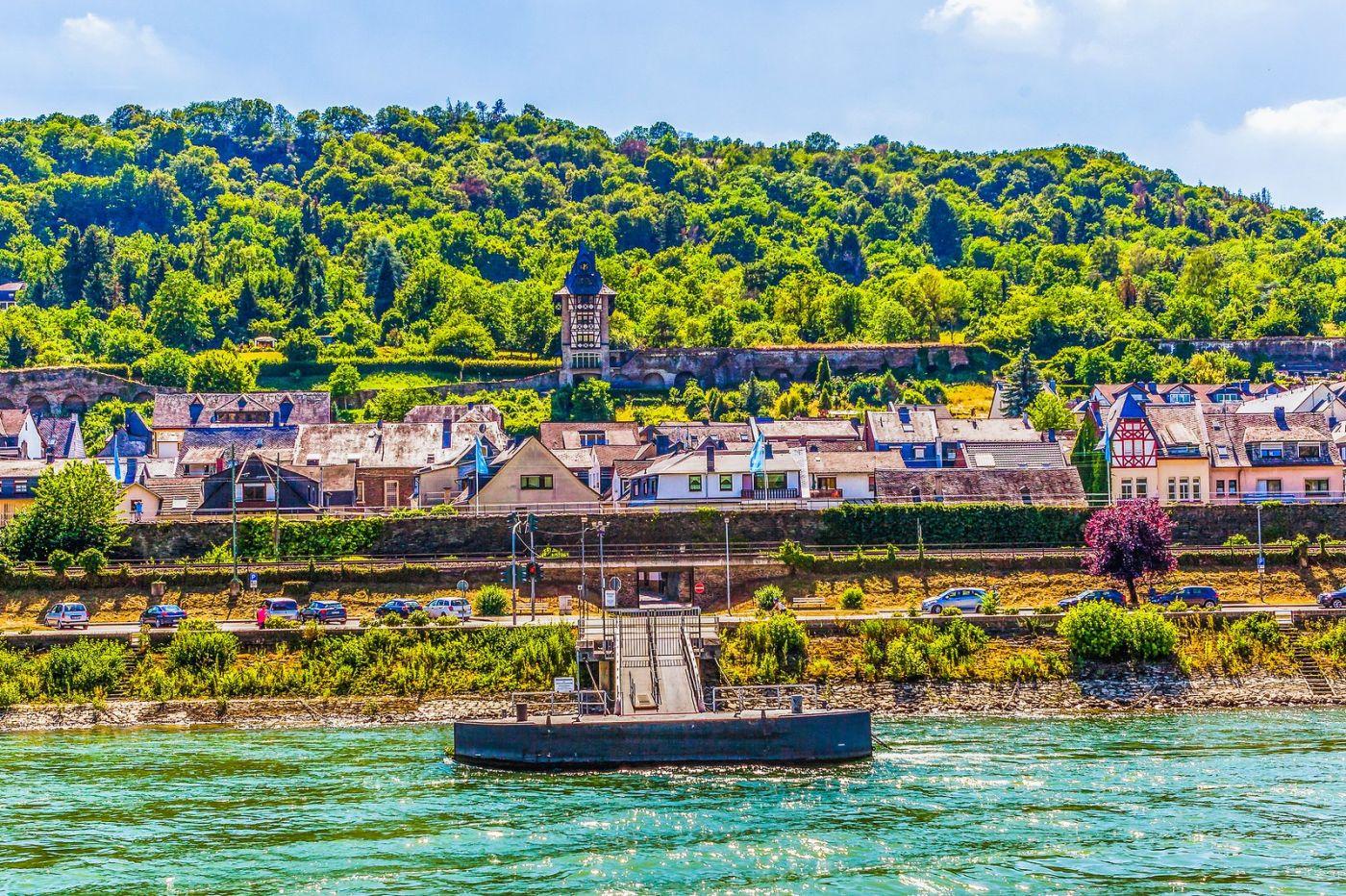 畅游莱茵河,河中的城堡_图1-17
