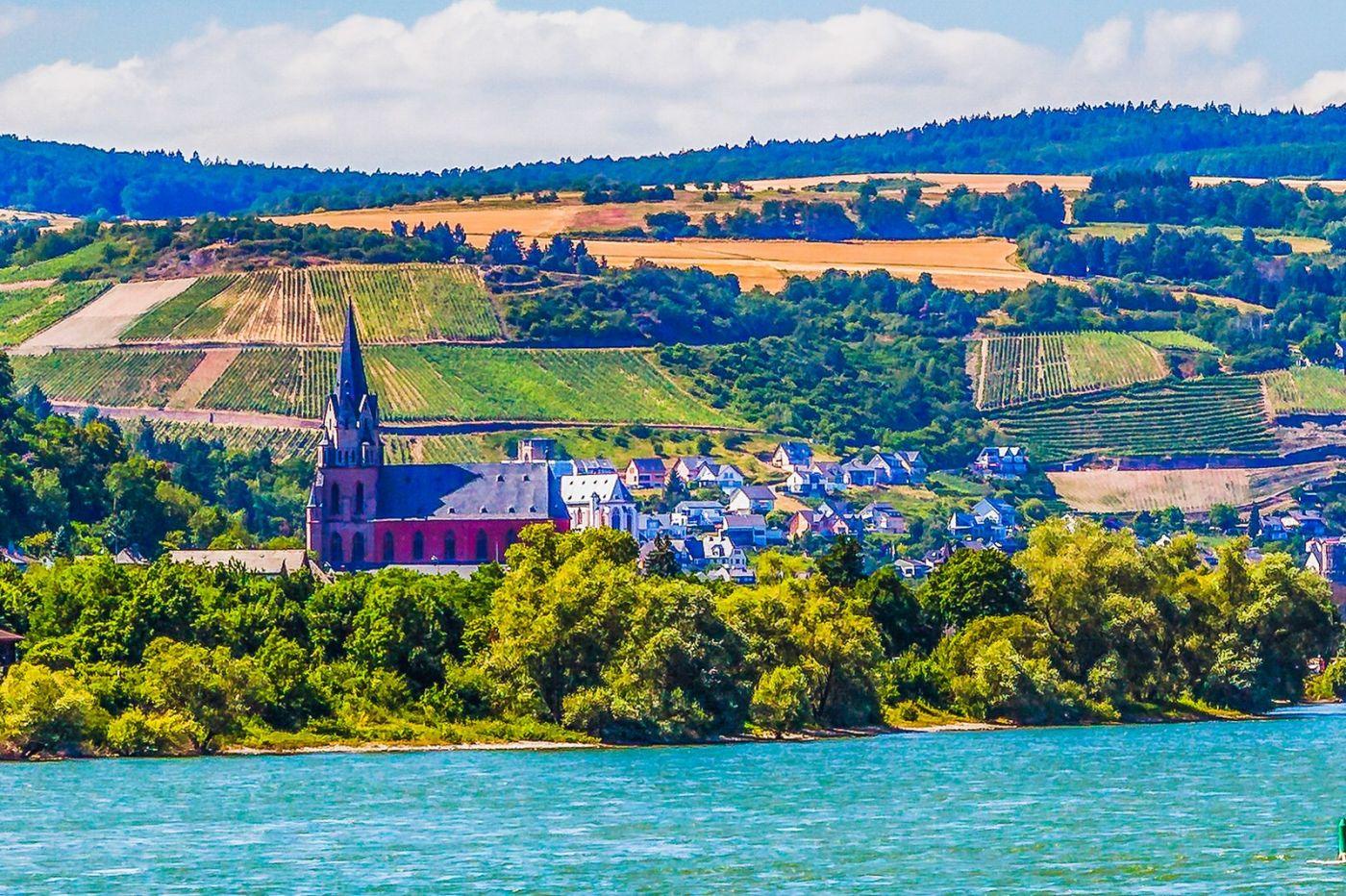 畅游莱茵河,河中的城堡_图1-22