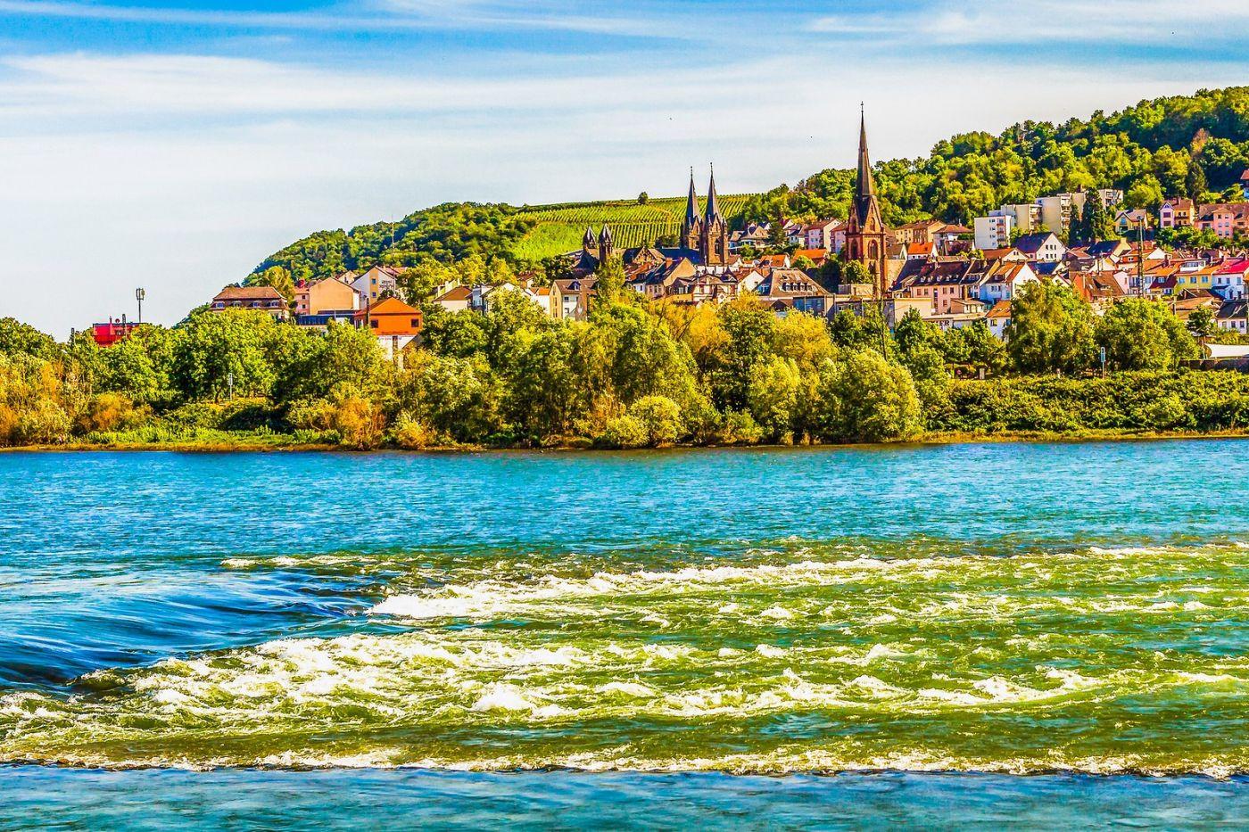 畅游莱茵河,河中的城堡_图1-28
