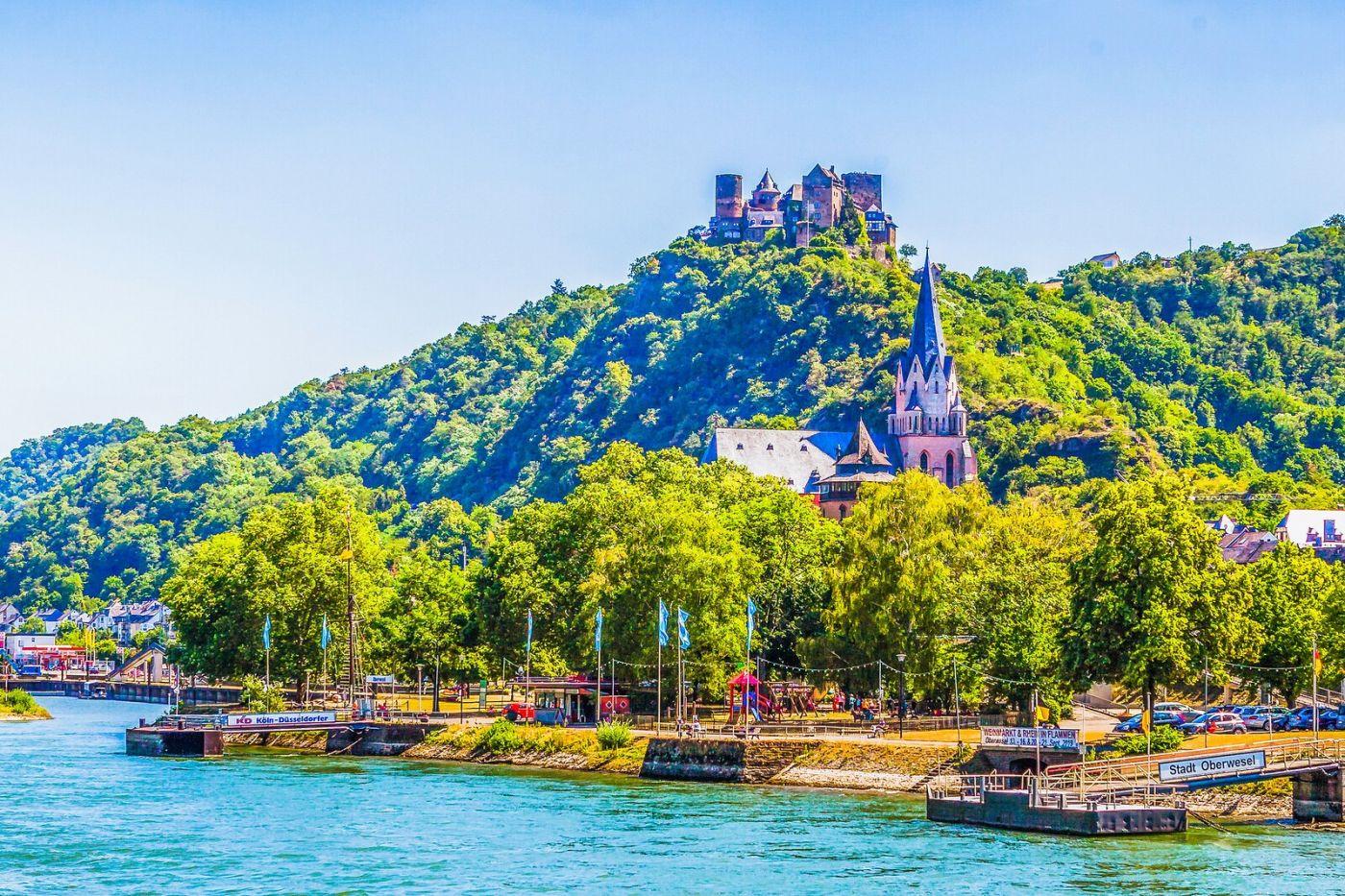 畅游莱茵河,河中的城堡_图1-27