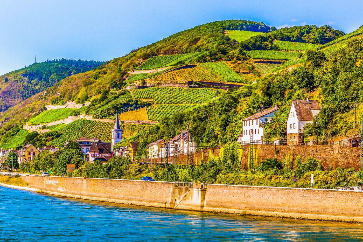 畅游莱茵河,河中的城堡_图1-29