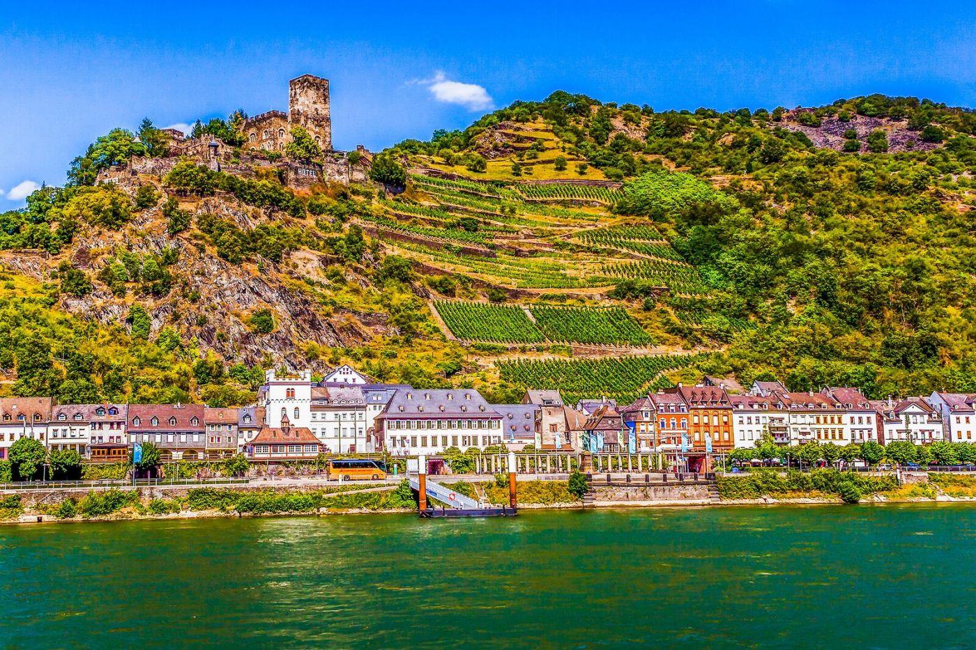 畅游莱茵河,河中的城堡_图1-30