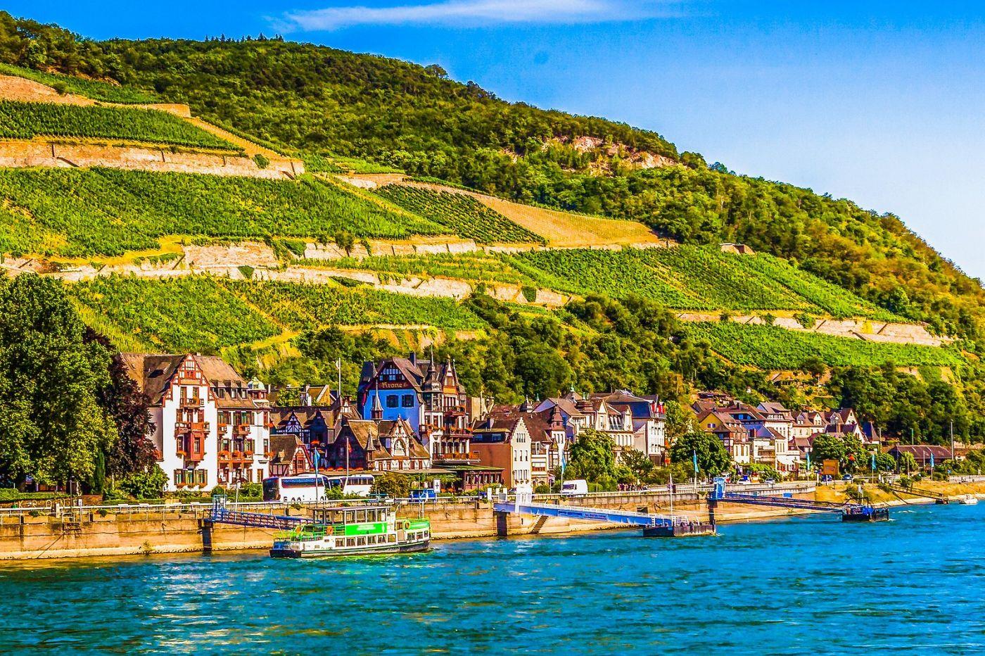 畅游莱茵河,河中的城堡_图1-25