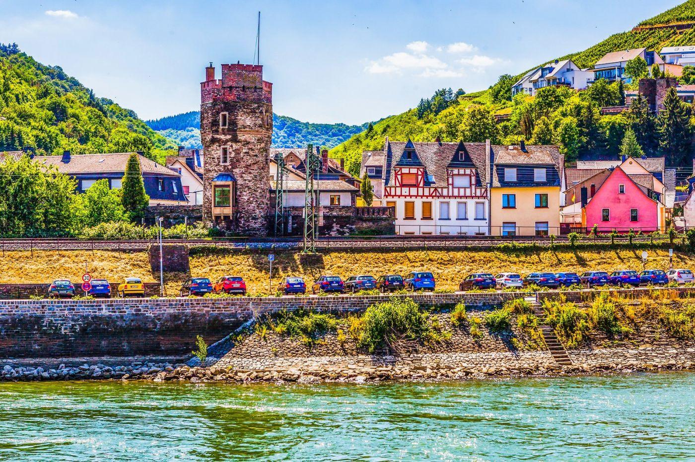 畅游莱茵河,河中的城堡_图1-31