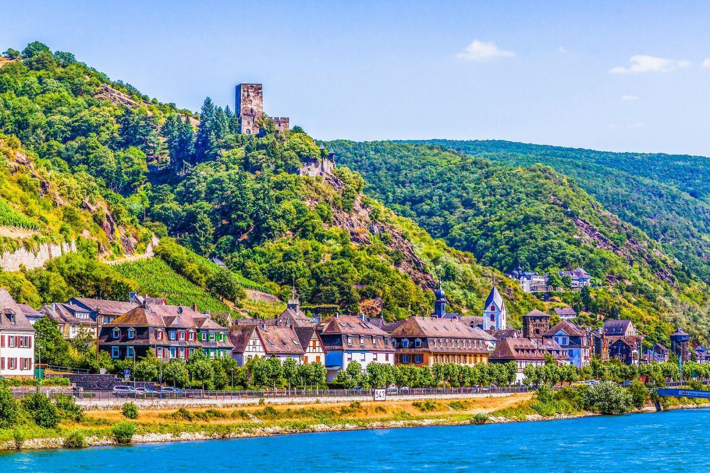 畅游莱茵河,河中的城堡_图1-33