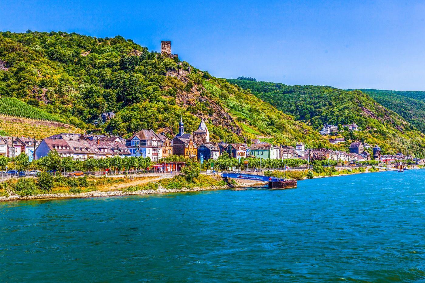 畅游莱茵河,河中的城堡_图1-37