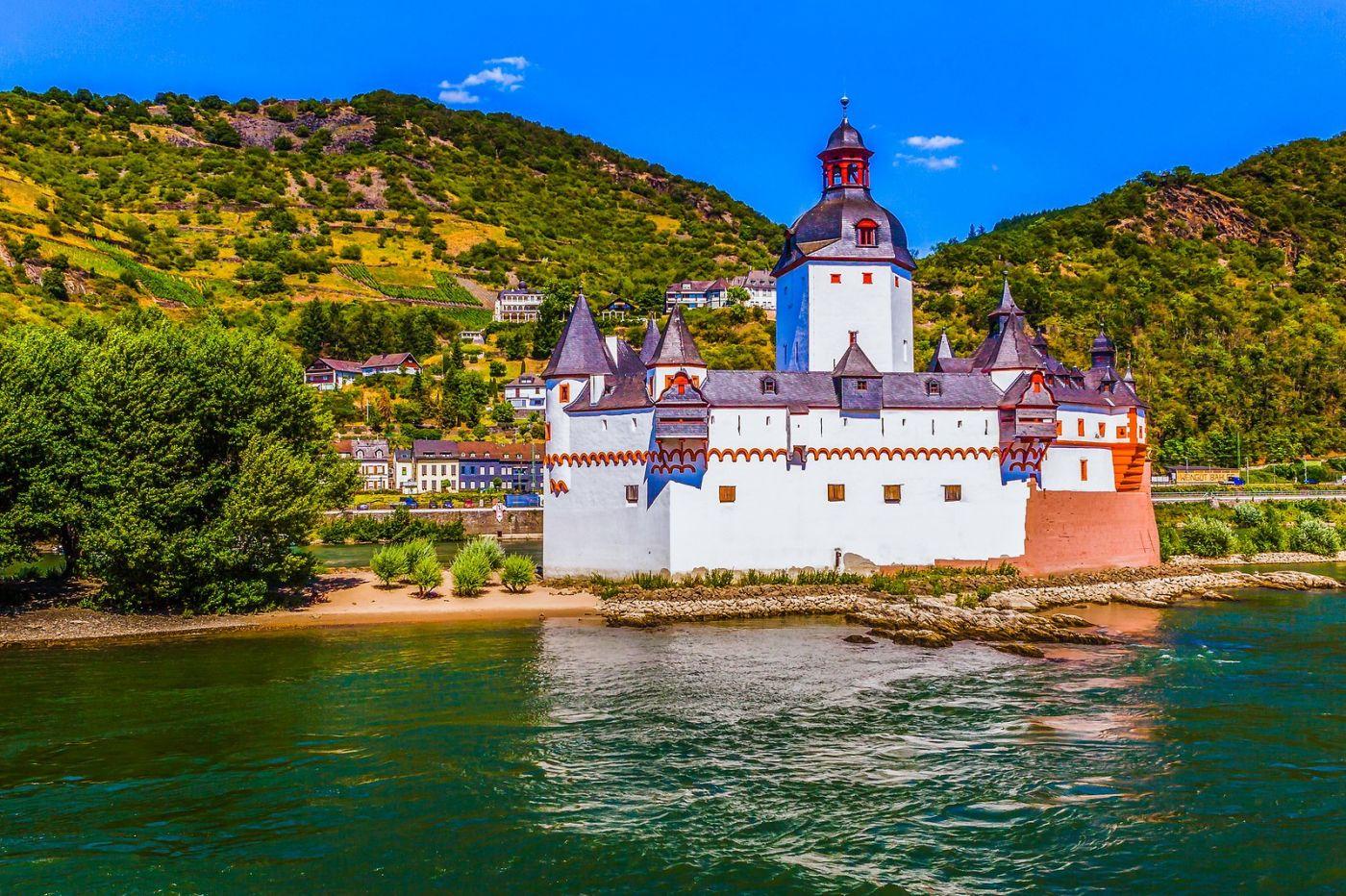 畅游莱茵河,河中的城堡_图1-38