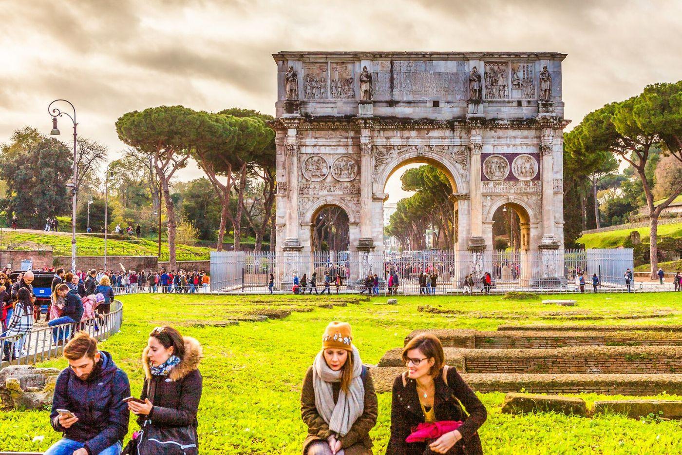 罗马君士坦丁凯旋门,两千年的建筑_图1-9