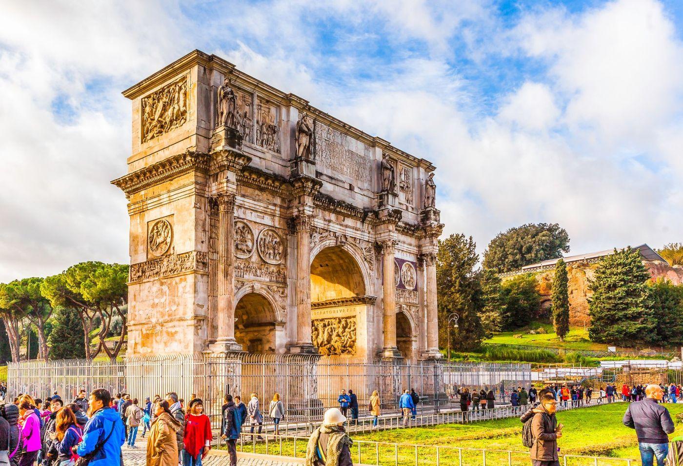 罗马君士坦丁凯旋门,两千年的建筑_图1-1