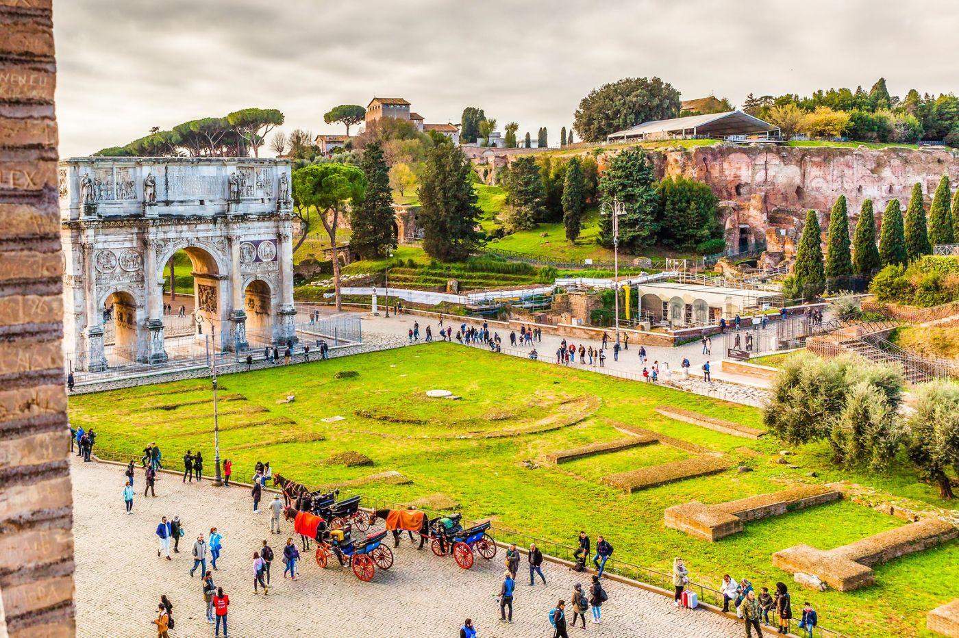 罗马君士坦丁凯旋门,两千年的建筑_图1-4