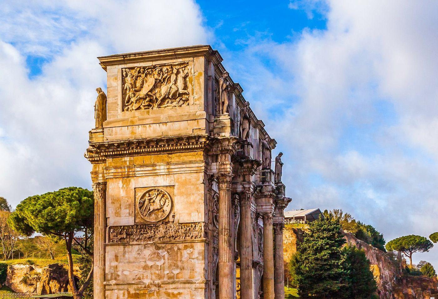 罗马君士坦丁凯旋门,两千年的建筑_图1-13