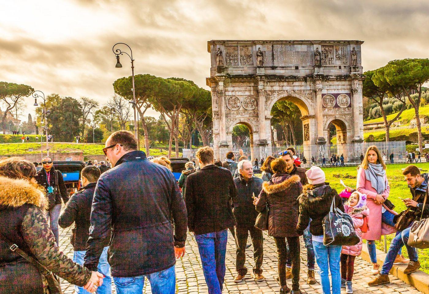 罗马君士坦丁凯旋门,两千年的建筑_图1-14