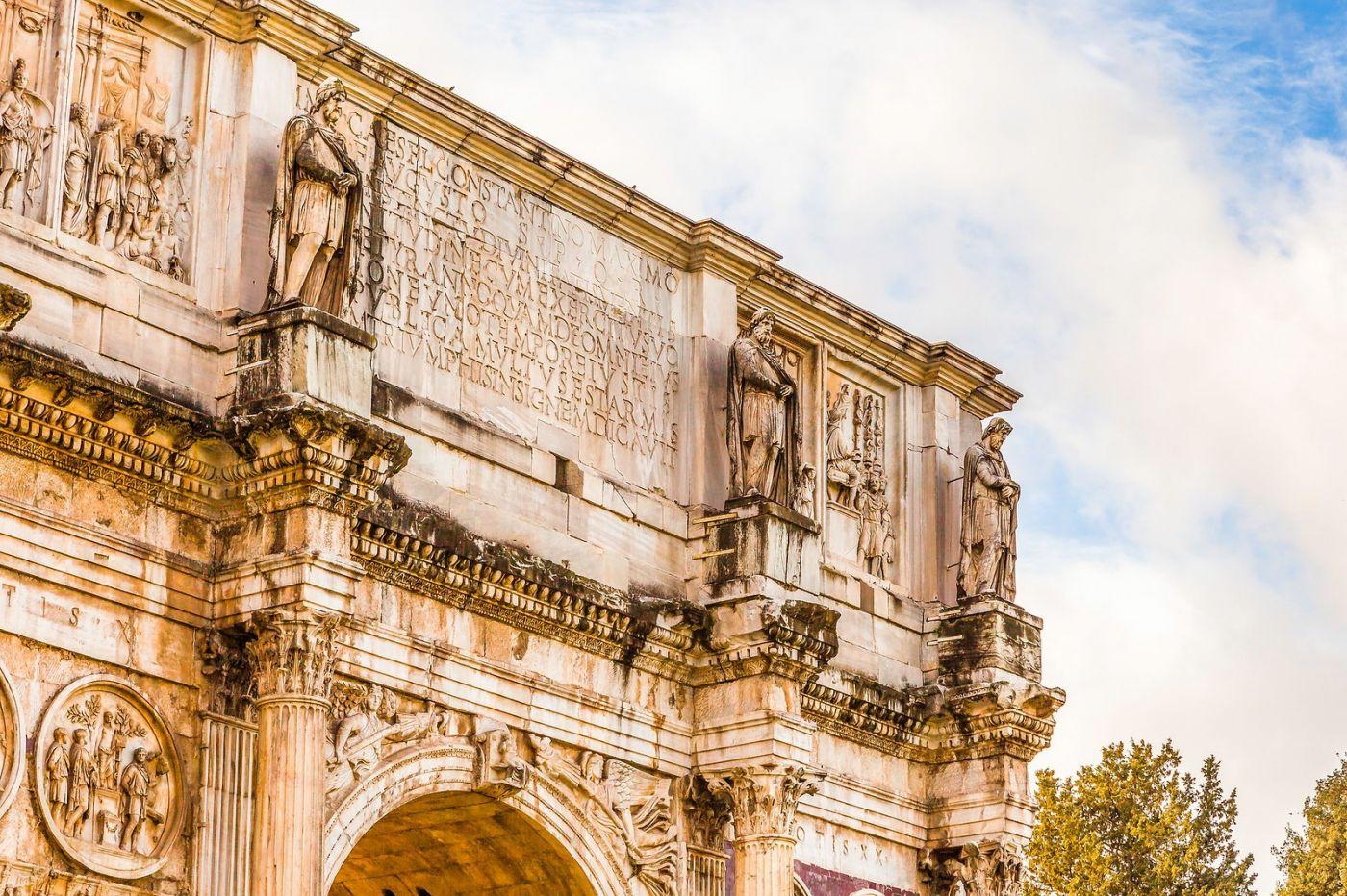 罗马君士坦丁凯旋门,两千年的建筑_图1-15