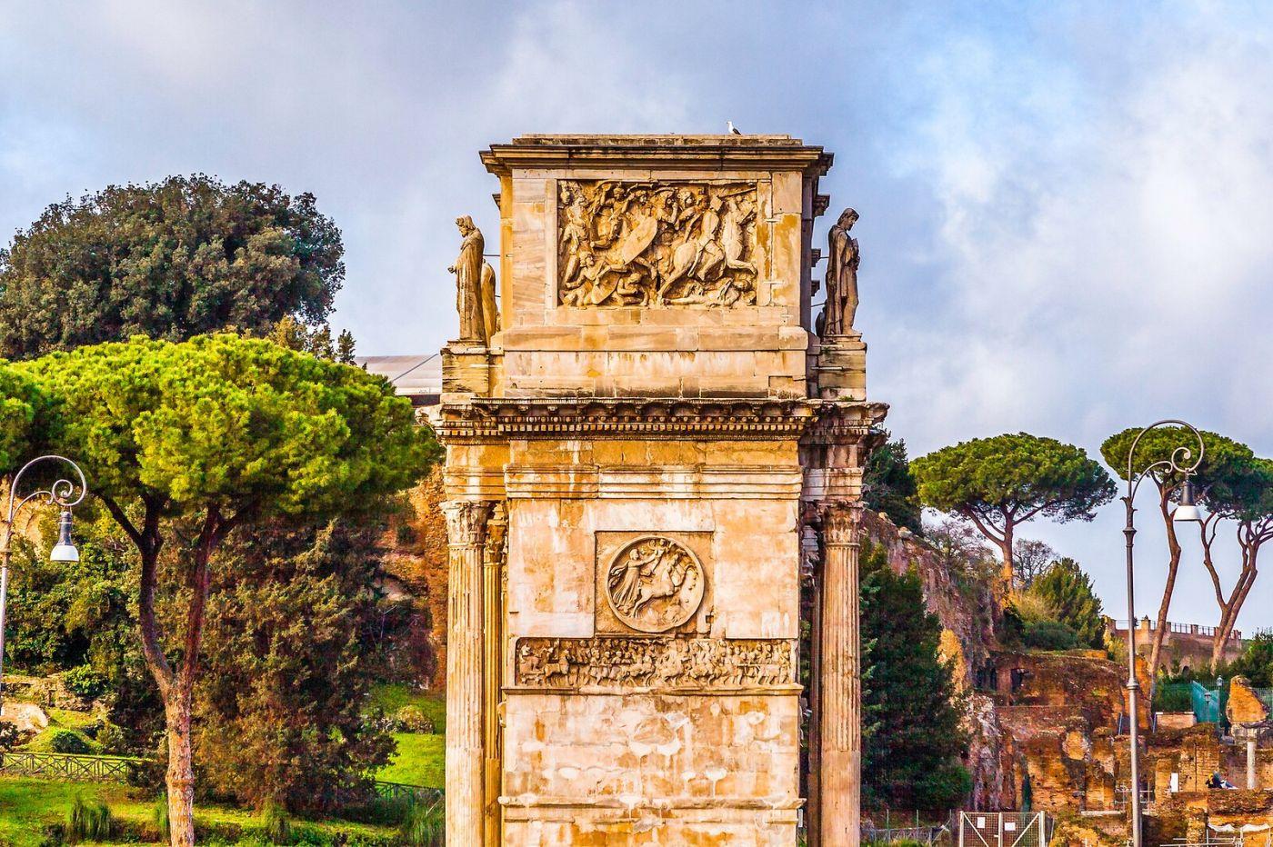 罗马君士坦丁凯旋门,两千年的建筑_图1-24