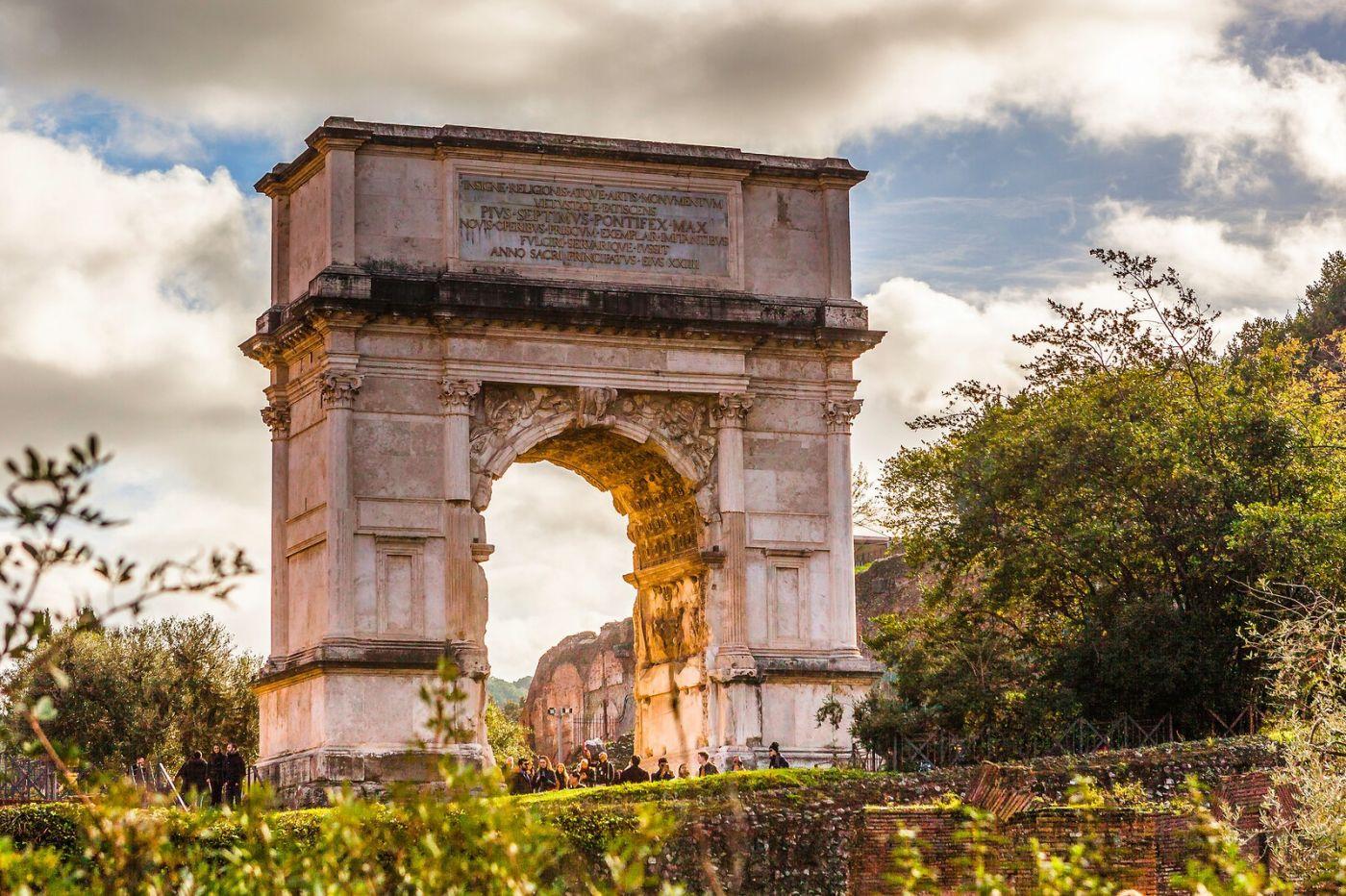 罗马君士坦丁凯旋门,两千年的建筑_图1-23