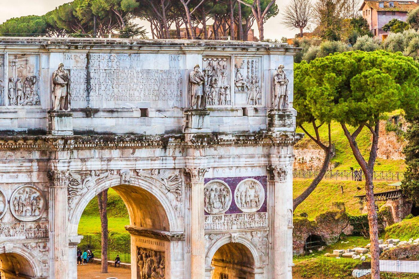罗马君士坦丁凯旋门,两千年的建筑_图1-22