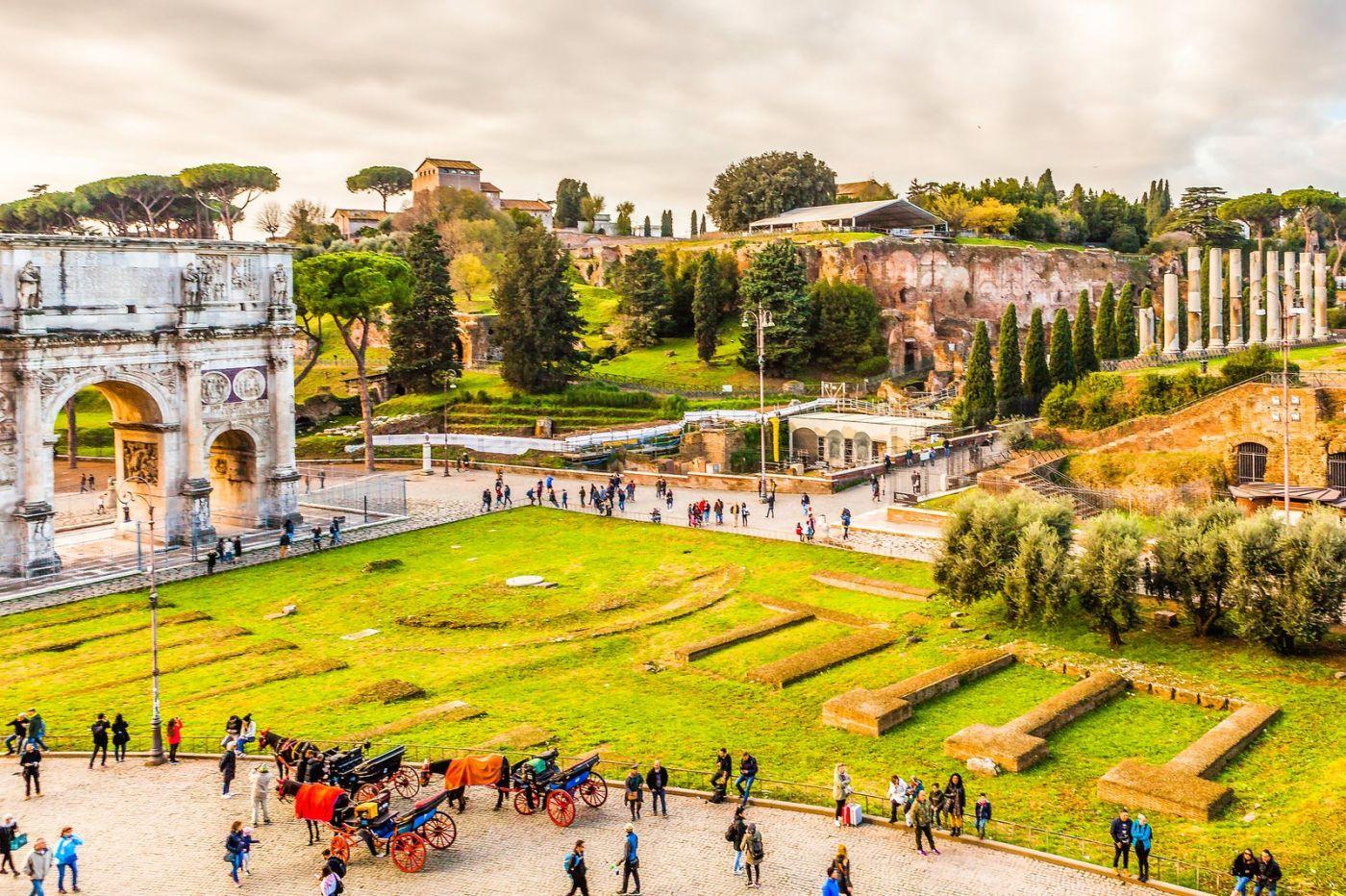 罗马君士坦丁凯旋门,两千年的建筑_图1-28
