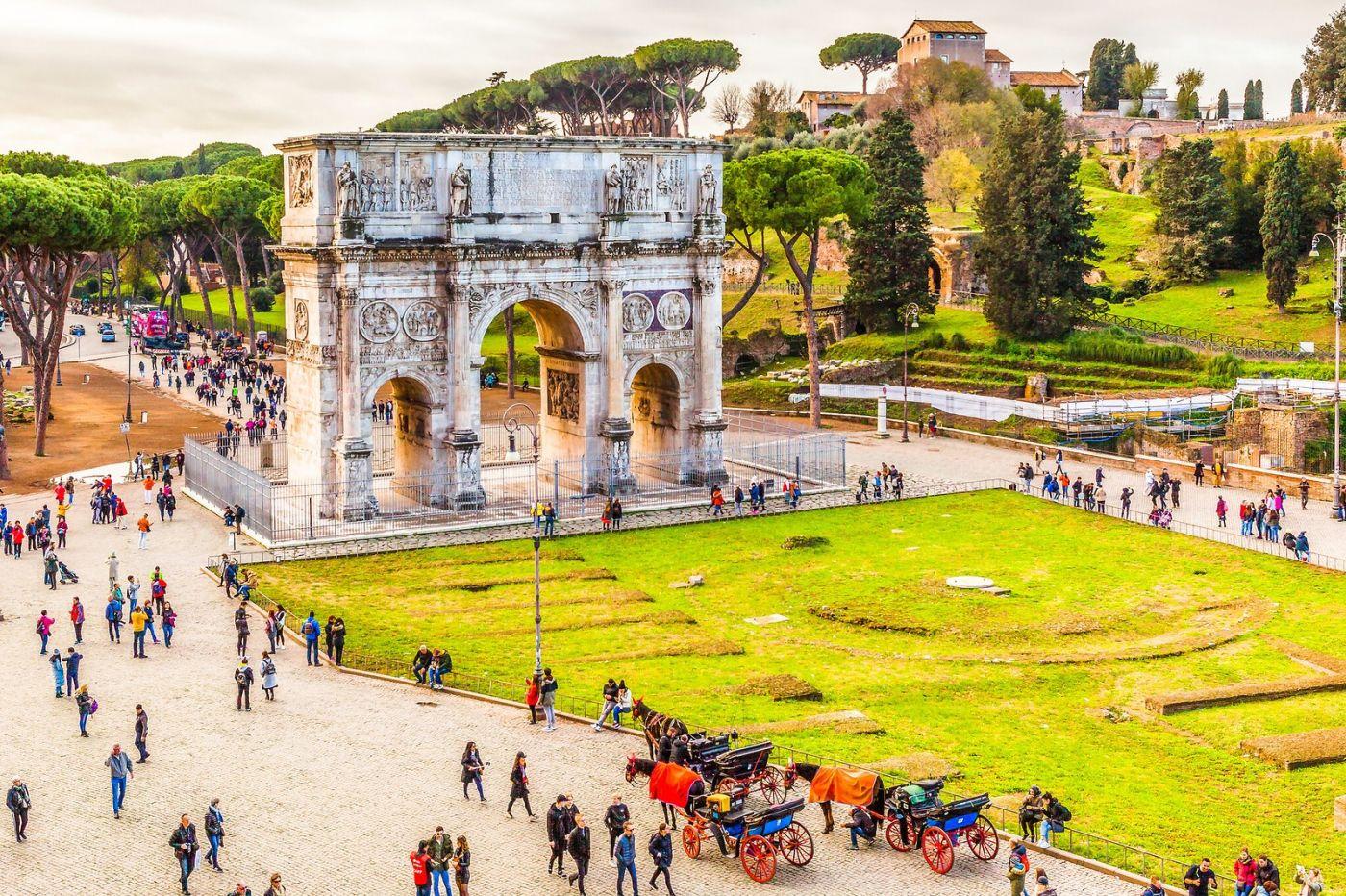 罗马君士坦丁凯旋门,两千年的建筑_图1-25