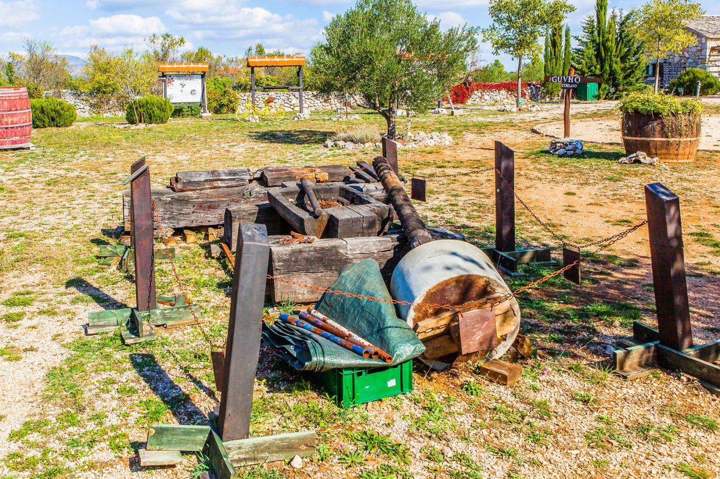 克罗地亚达尔马提亚村,独特的地域风貌_图1-28