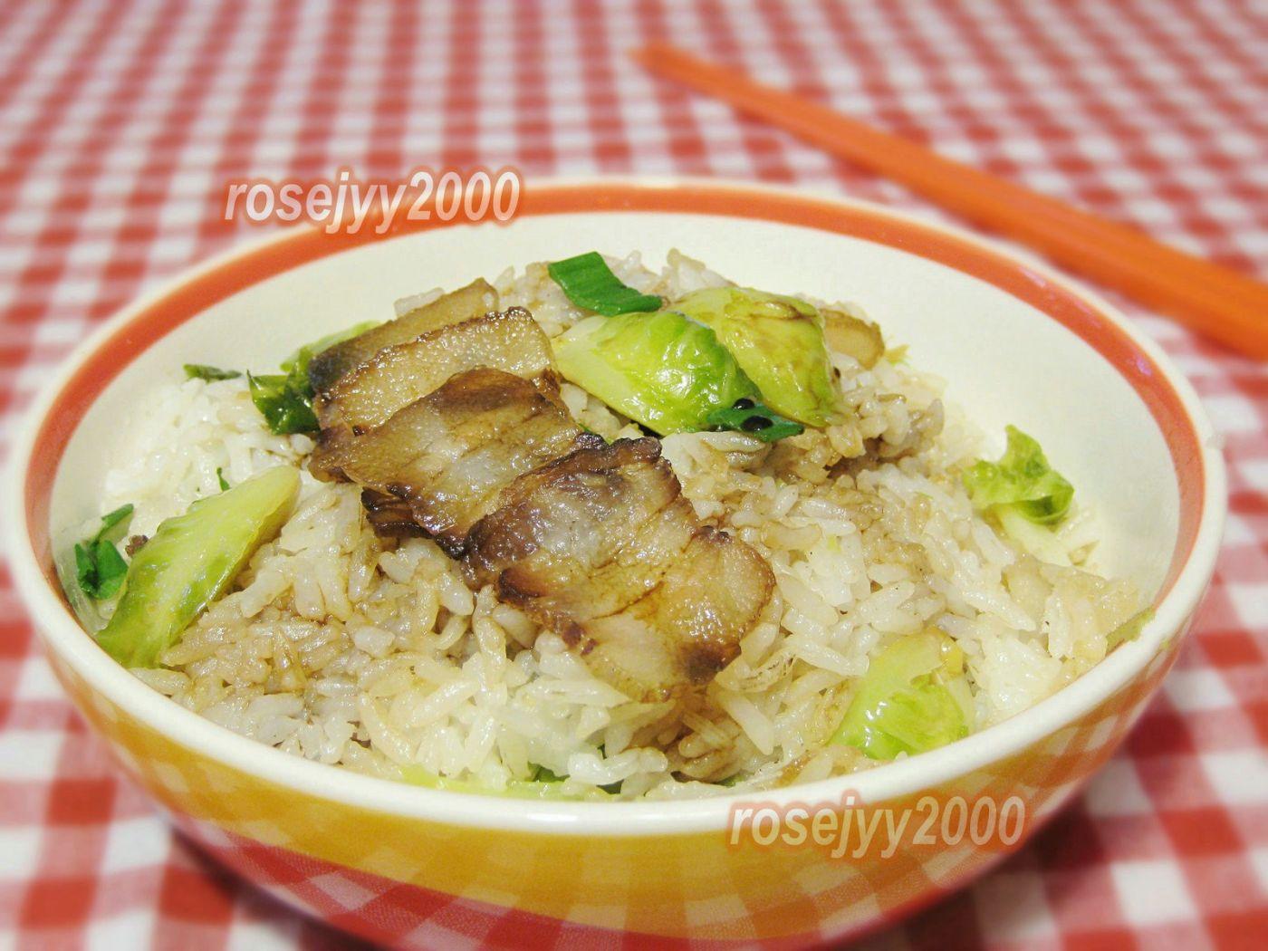 家庭腊肉菜饭_图1-1