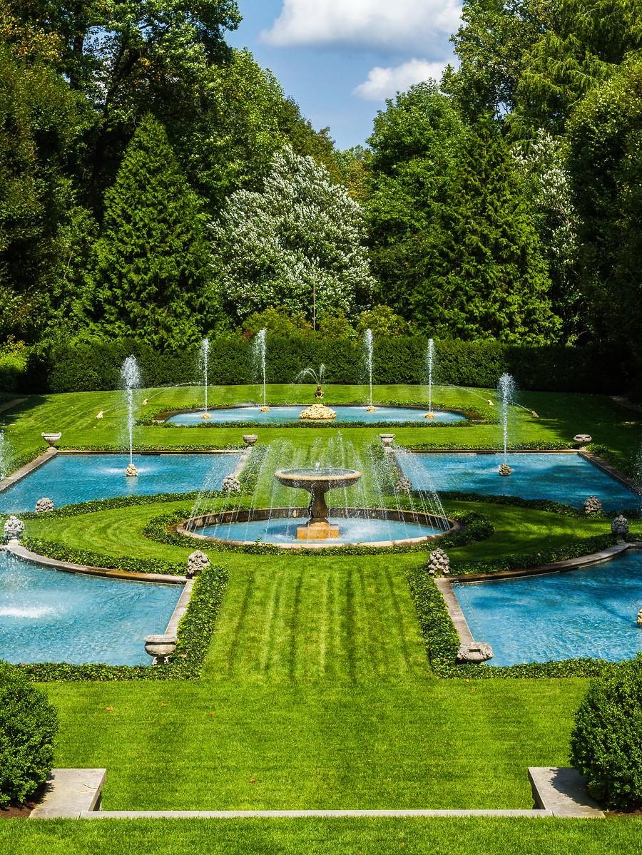 宾州长木公园,跳动的喷泉_图1-5