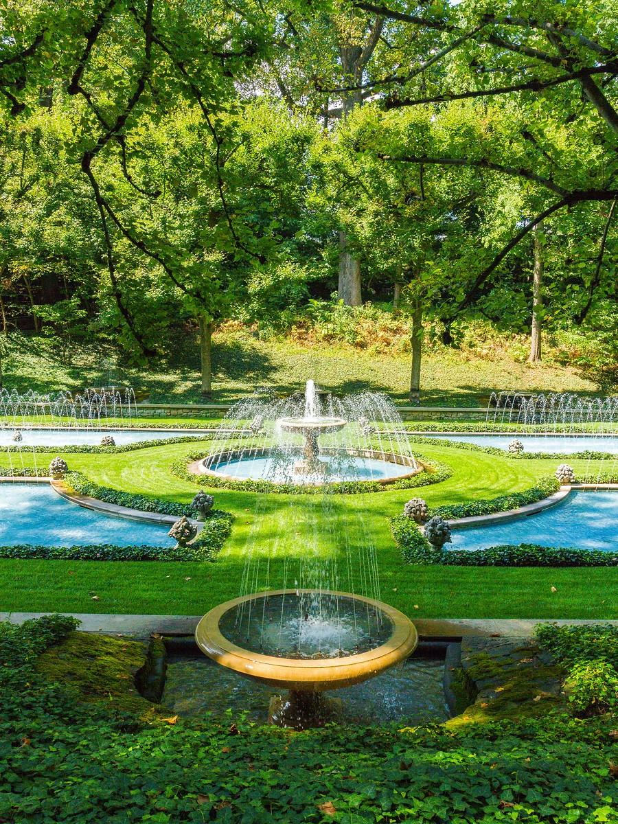 宾州长木公园,跳动的喷泉_图1-1