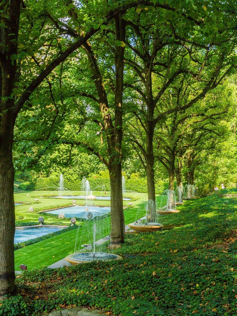 宾州长木公园,跳动的喷泉_图1-26