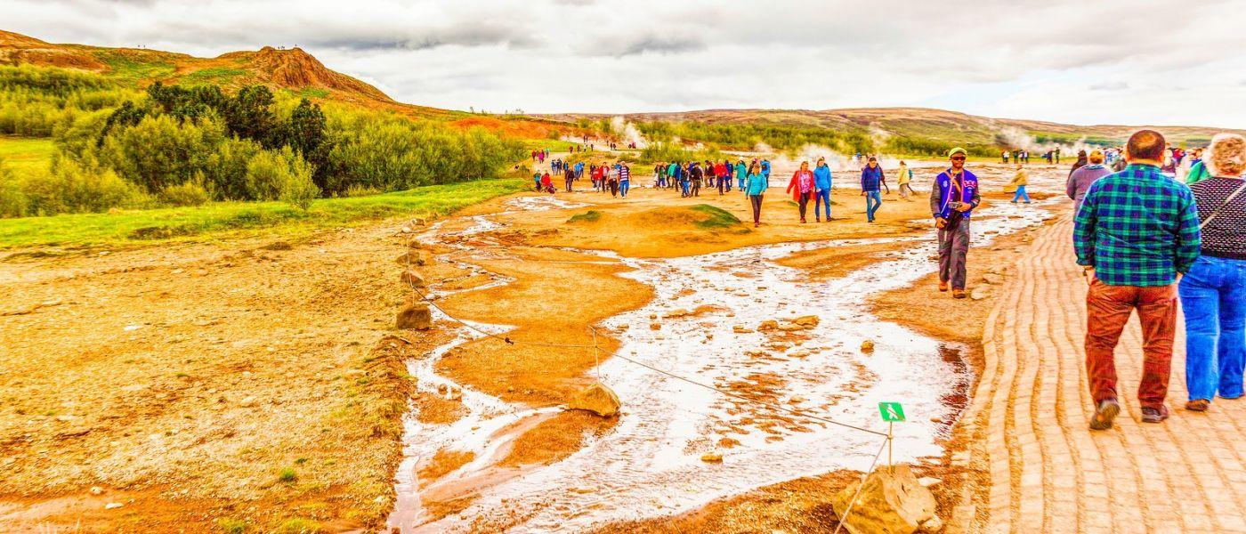 冰岛盖西尔(Geysir),围观热喷泉_图1-38