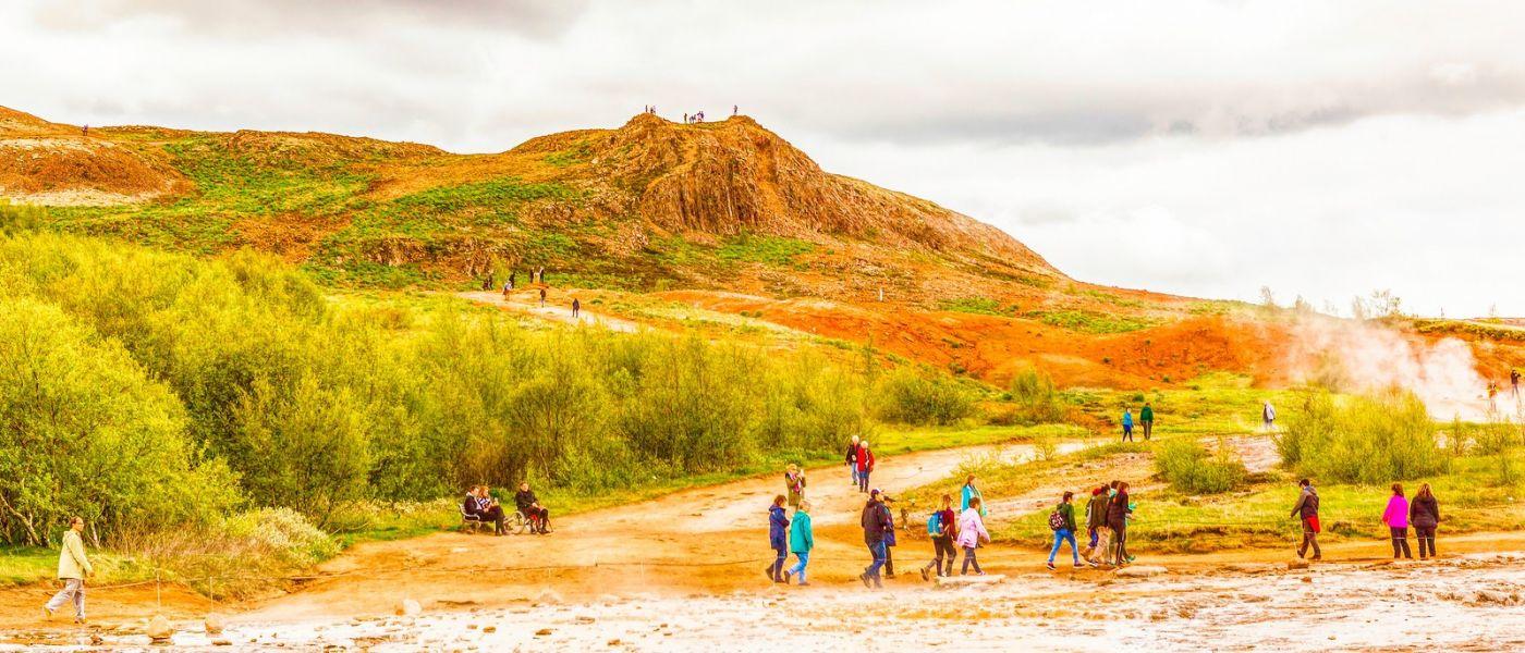 冰岛盖西尔(Geysir),围观热喷泉_图1-32