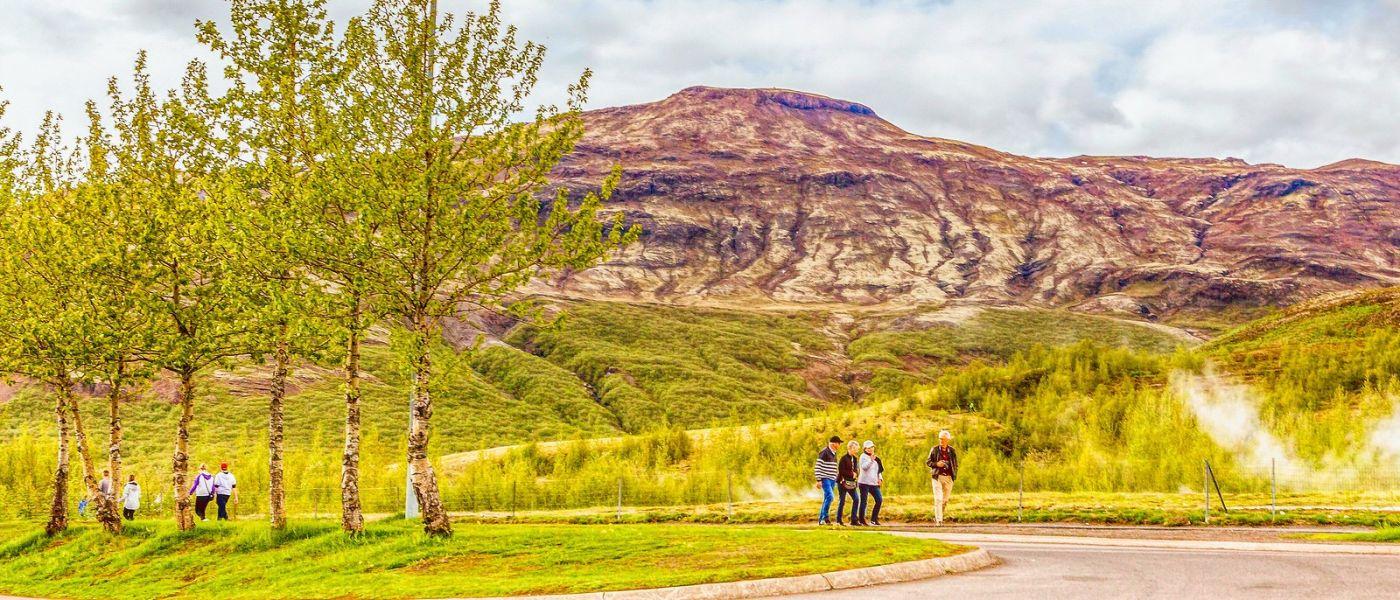 冰岛盖西尔(Geysir),围观热喷泉_图1-25