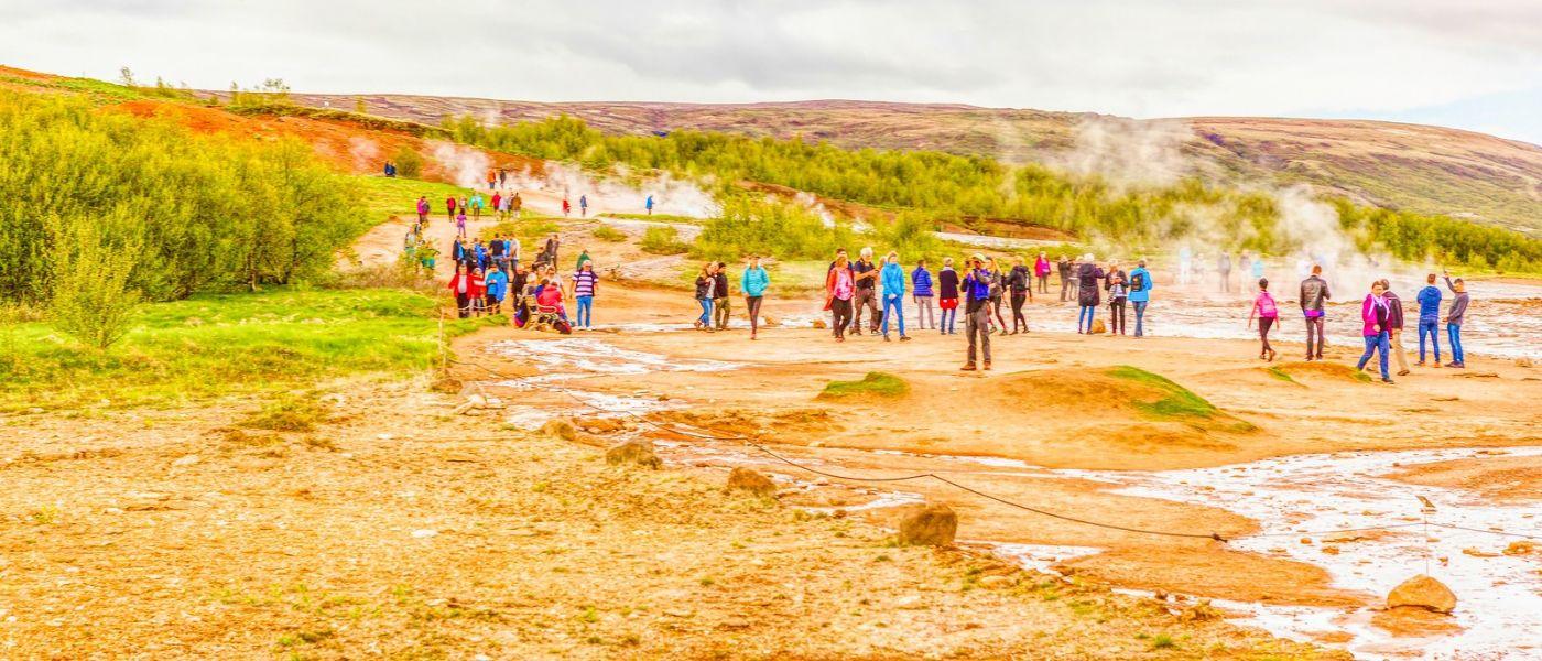 冰岛盖西尔(Geysir),围观热喷泉_图1-24