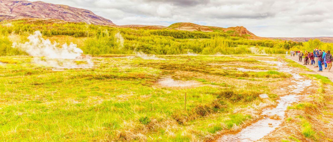 冰岛盖西尔(Geysir),围观热喷泉_图1-19
