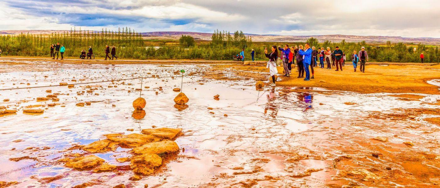 冰岛盖西尔(Geysir),围观热喷泉_图1-14